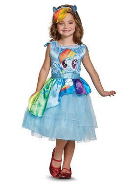 My Little Pony: Rainbow Dash Movie Classic Toddler Costume