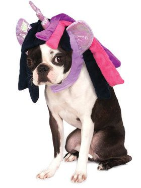 Twilight Sparkle My Little Pony Hood Pet Costume
