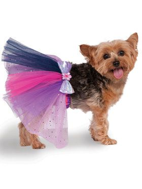 Twilight Sparkle My Little Pony Tutu Pet Costume