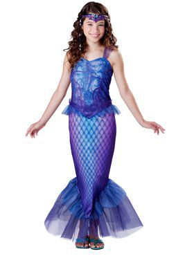 Mysterious Mermaid Child Costume