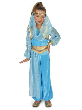 Mystic Genie Costume For Children