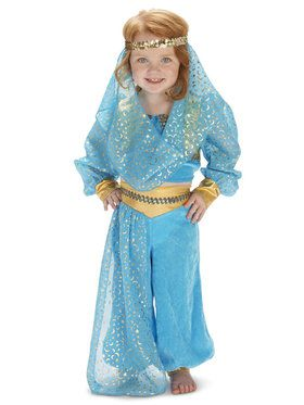 Mystic Genie Costume For Toddlers