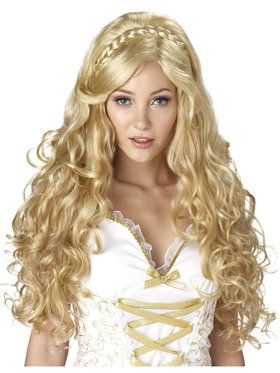 Mythic Goddess Wig For Adults