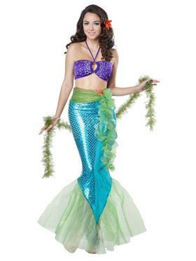 Mythic Mermaid Costume For Adults