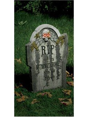 "Nathan Crowley Gravestone 22"" Light Up"
