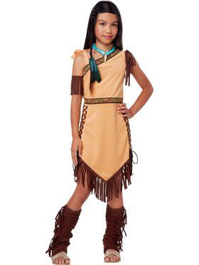 Native American Beauty Girls Costume