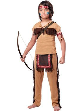 Native American Brave Boy's Costume