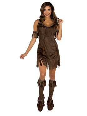 Native American Girl Adult Costume