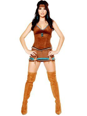Native American Indian Deluxe Costume