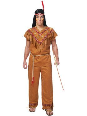 Native American Men's Costume