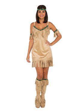 Native American Princess Women's Costume
