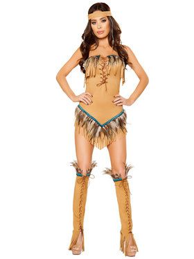 Native American Seductress Women's Costume