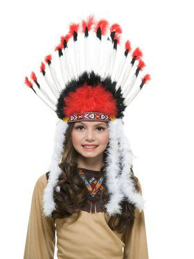Kid's Native American Brave Headdress