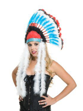 Kid's Native American Inspired Headdress
