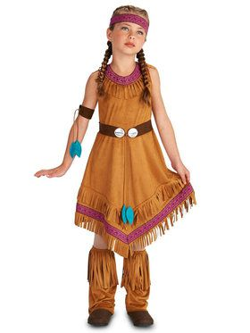 Native Princess Girl Costume For Children