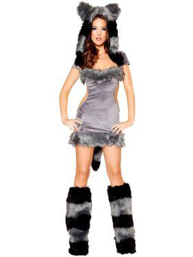 Naughty Raccoon Deluxe Costume