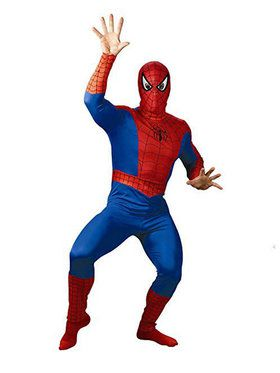 Adult Spider-Man Comic Costume