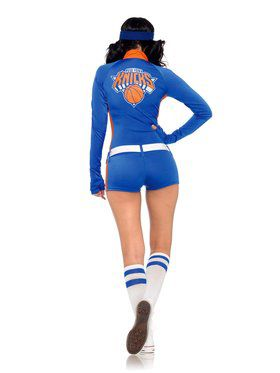 New York Knicks City Dancers Retro Romper Sexy Women's Costume