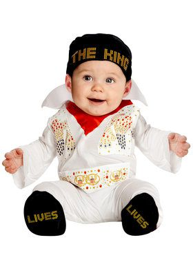 Newborn Elvis Jumper Costume