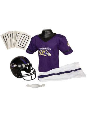 NFL Ravens Helmet & Uniform for Boys