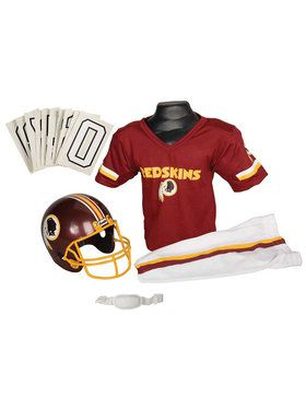 NFL Redskins Helmet & Uniform for Boys
