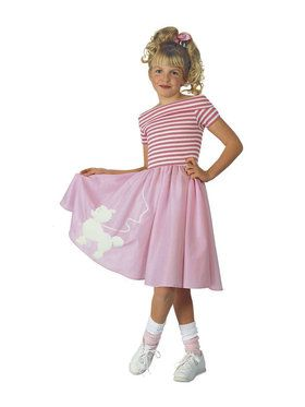 Nifty Fifties Childrens Costume