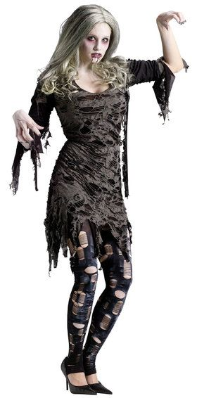 Night Zombie Adult Costume
