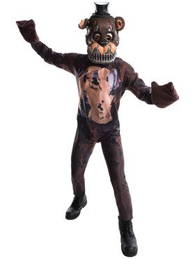 Nightmare Freddy Youth Costume