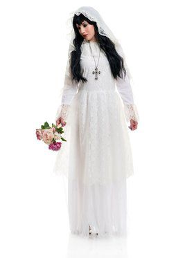 Women's Nightshade Bride Costume