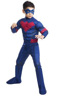 Nightwing Deluxe Boy's Costume