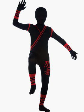 Ninja 2nd Skin Boys Costume