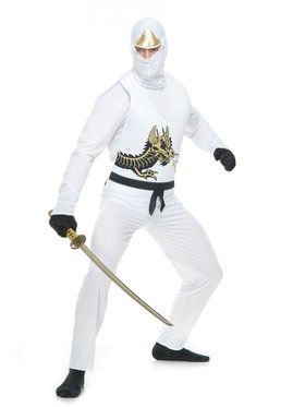 Adult's Ninja Warrior Costume