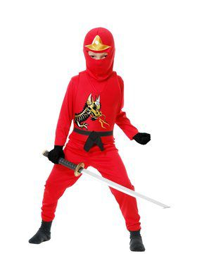 Child's Ninja Warrior Costume