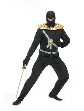 Adult's Ninja Avenger Costume with Armor