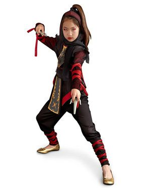 Ninja Dragon Costume For Children