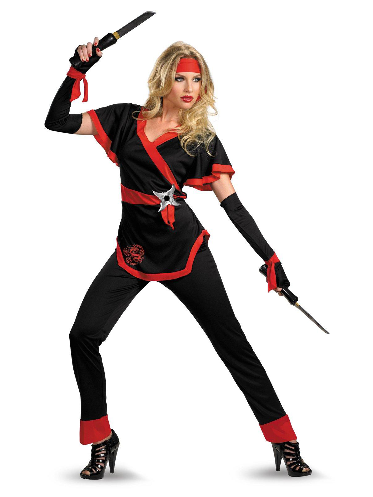 Disguise Inc Female Ninja Costume