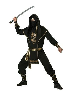 Ninja Warrior Adult Costume