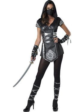 Womens Ninja Warrioress Costume