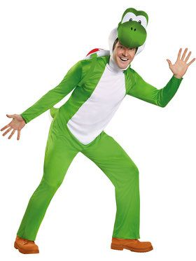 Nintendo Super Mario Brother's Yoshi Deluxe Men's Costume