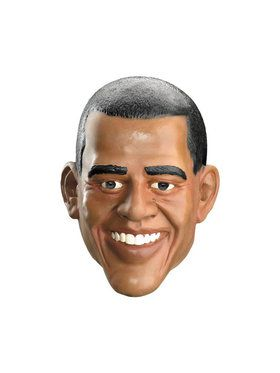 Obama Adult Vinyl Full Mask