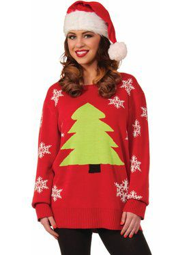Oh Christmas Tree Christmas Sweater Costume Top