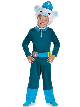 Octonauts Captain Barnacles Classic Costume Toddler