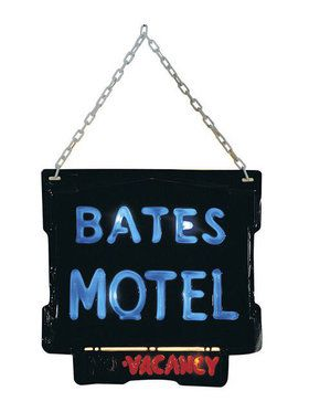 Official 'Bates Motel' Sign