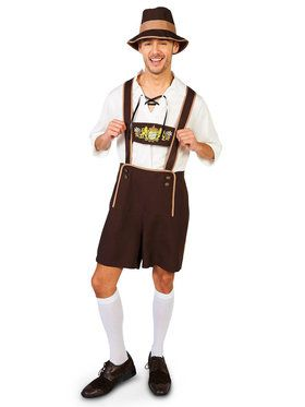 Adult Oktoberfest Guy Costume For Adults