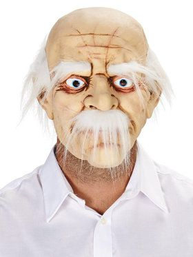 Old Man Adult Mask