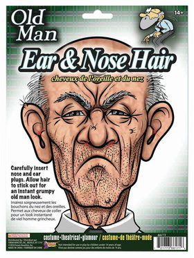 Old Man Ear and Nose Hair Accessory Kit