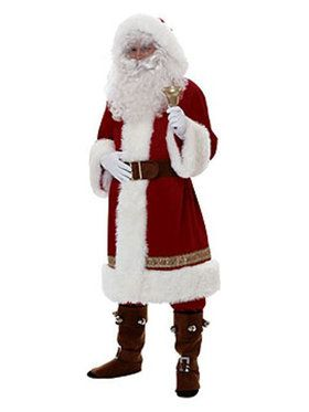 Old Time Santa Claus Costume