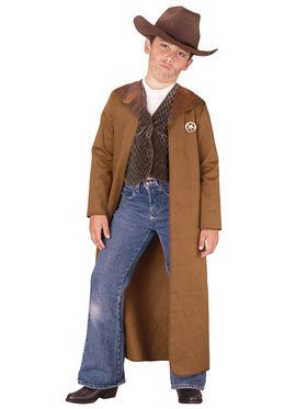 Old West Sheriff Costume For Children