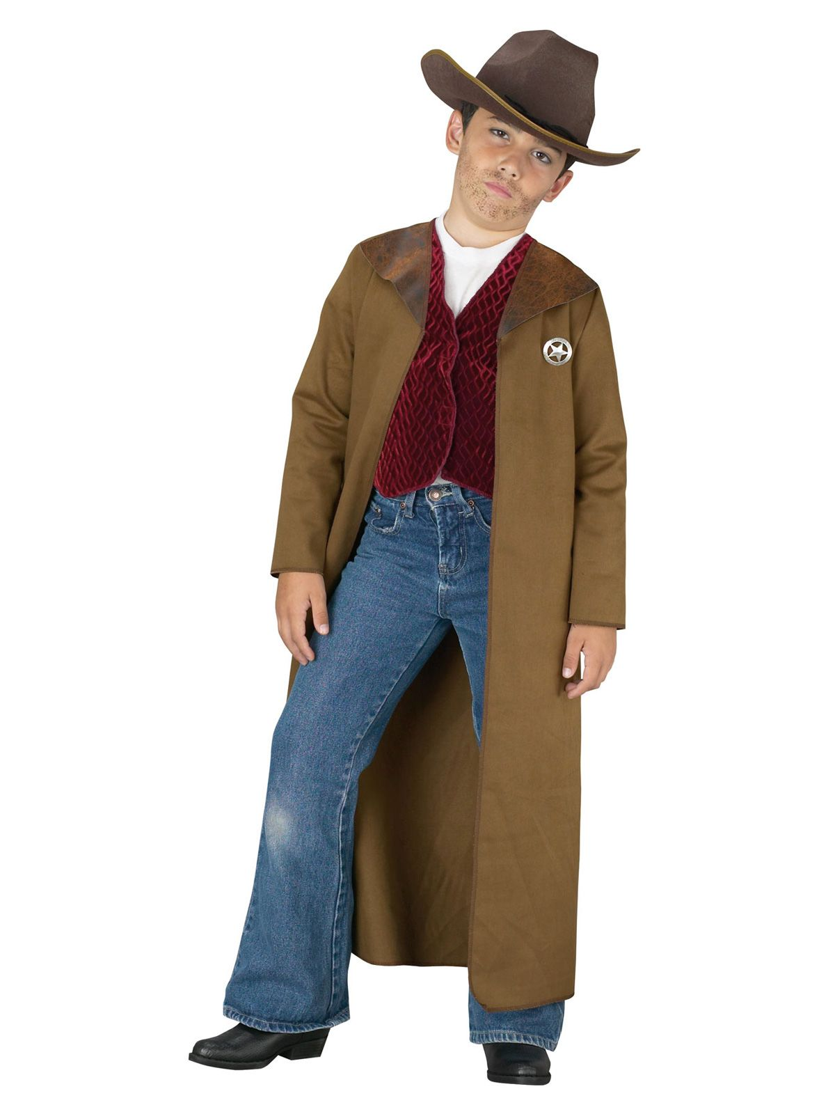 Fun World Old West Boys Sheriff Costume