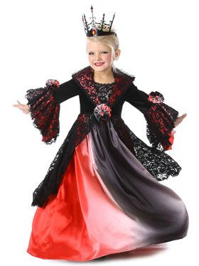 Ombre Vampire Costume For Children